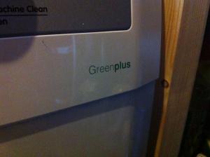 Een degelijke en groene wasmachine ter vervanging van het studentenmachientje