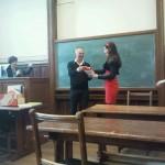 Mijn bacheloruitreiking van Literatuurwetenschap (2012)