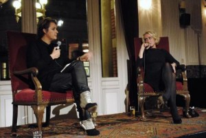 Margriet van der Linden interviewt Eva Jinek