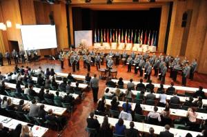 Het Youth Forum was gigantisch, en groots opgezet.