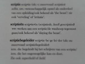 scriptieën