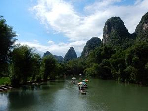 Prachtig landschap in China