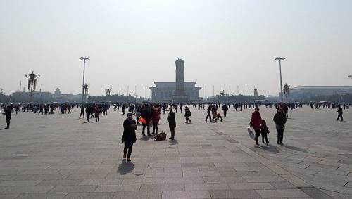 Plein van de Hemelse Vrede in China