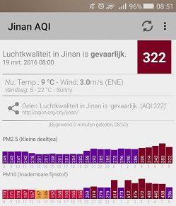 Luchtkwaliteit in Amsterdam wel groen