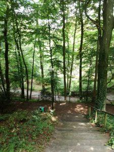 Landgoederenroute, rust in Den Haag