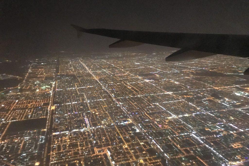 Riyad vanuit vliegtuig